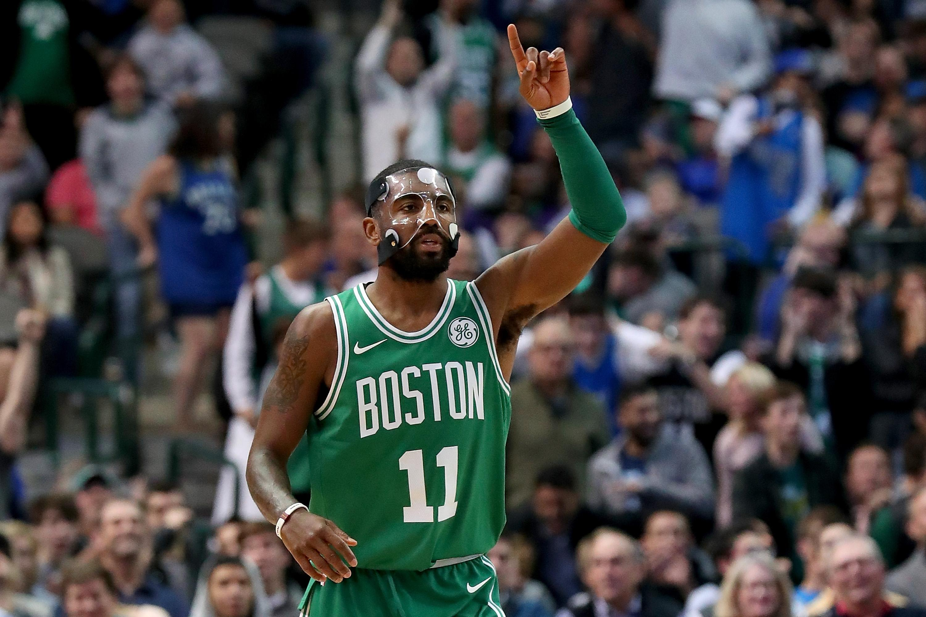 Celtics: Kyrie Irving Talking About Staying In Boston ...Kyrie Irving