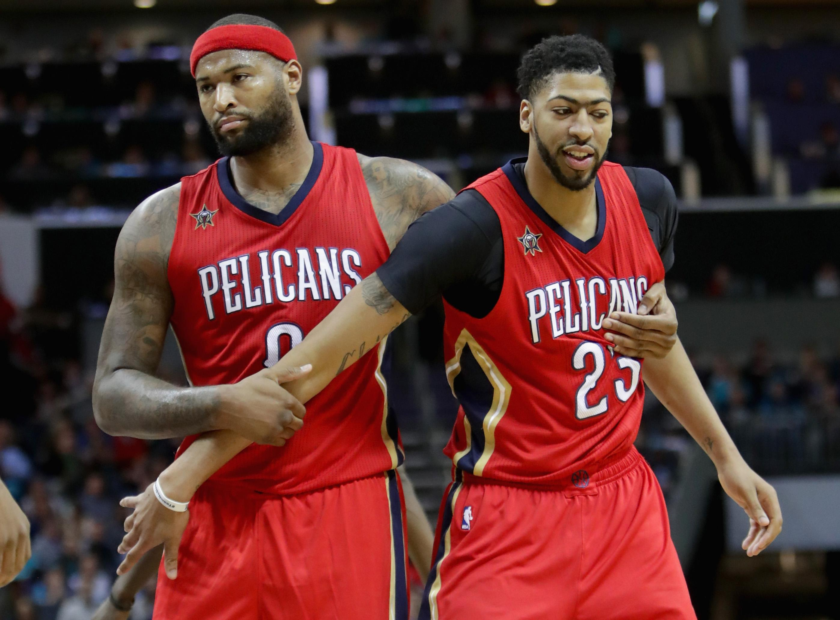 DeMarcus Cousins and Anthony Davis