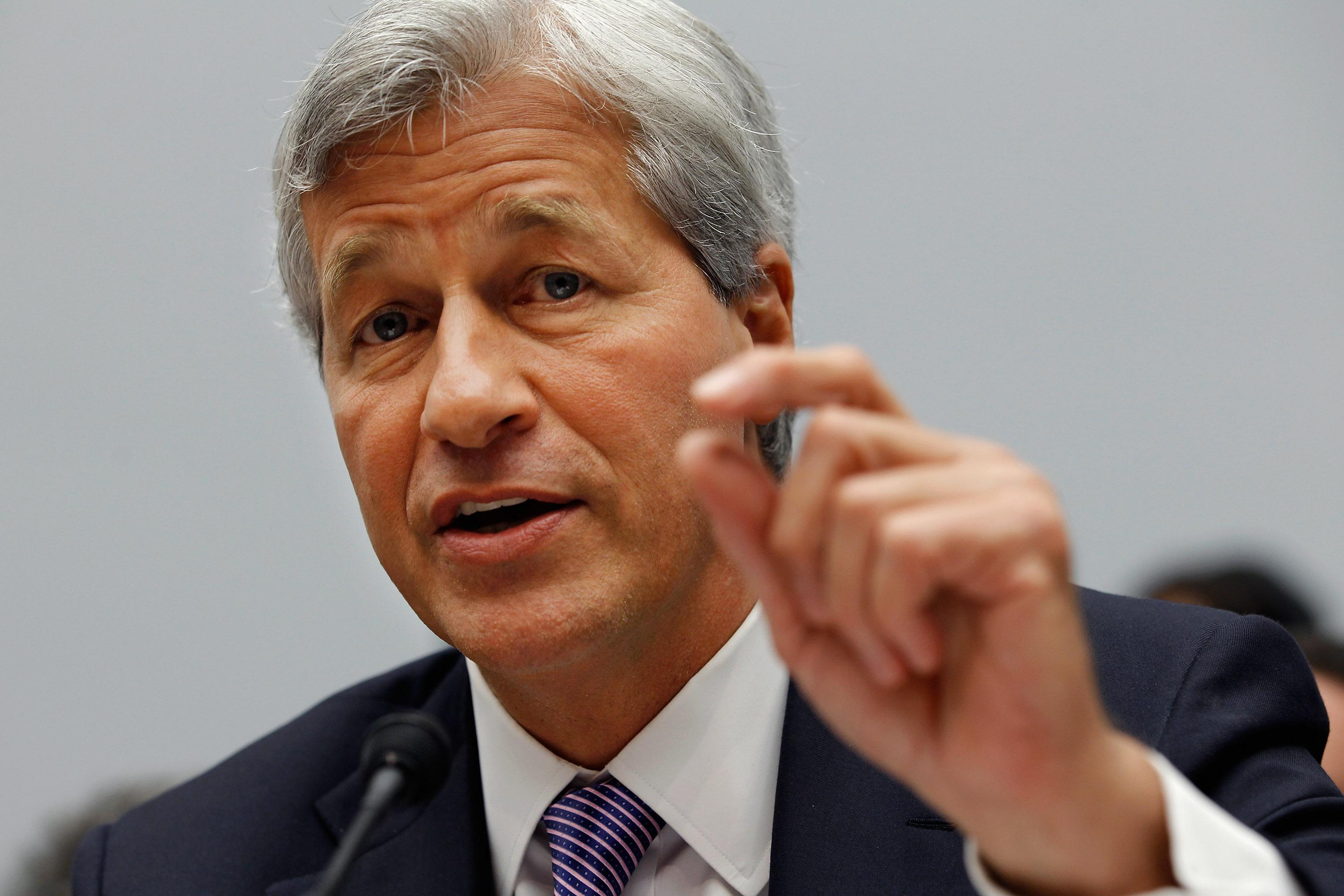 This image depicts [Jamie] Dimon