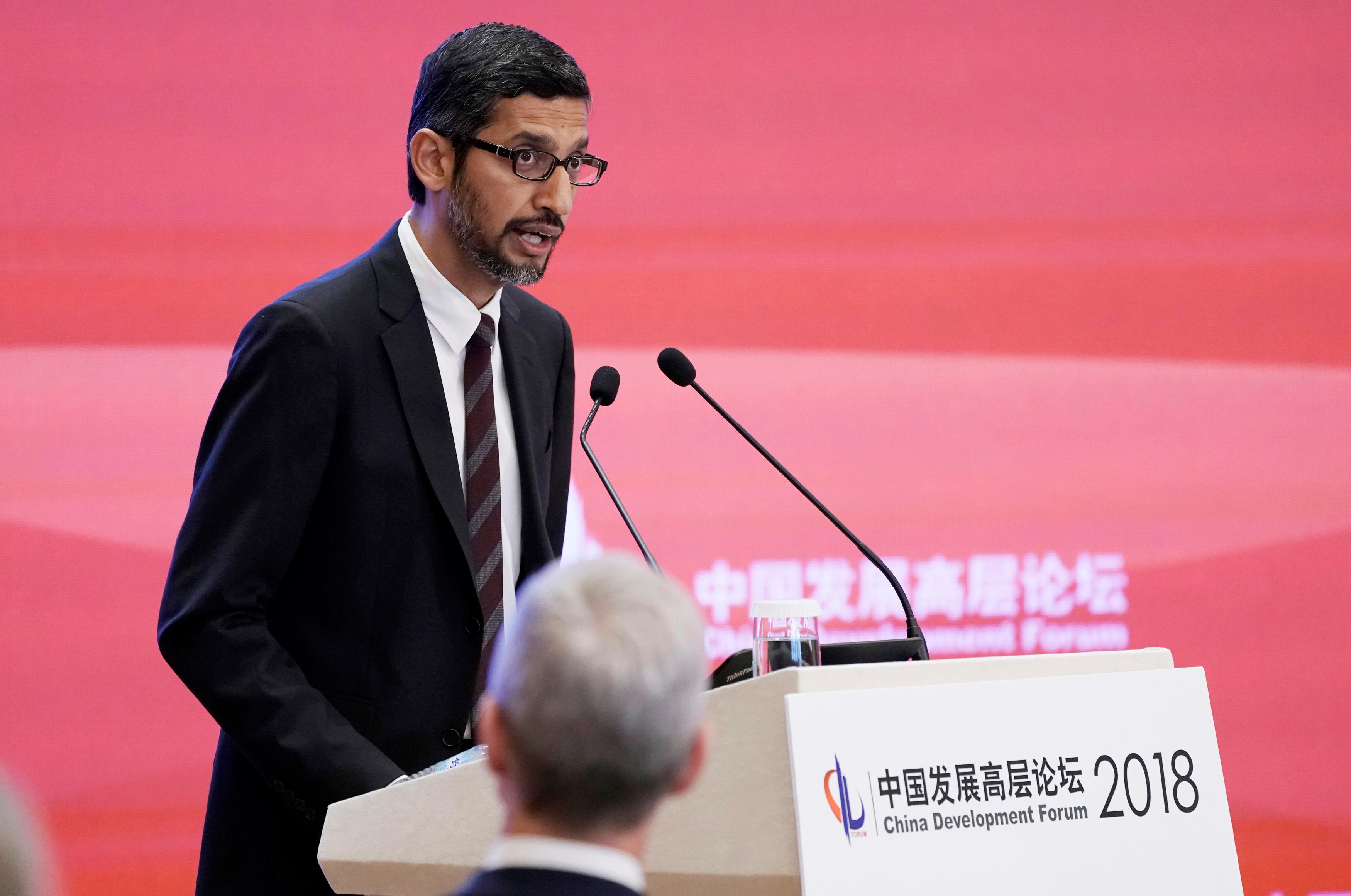 Sundar Pichai China