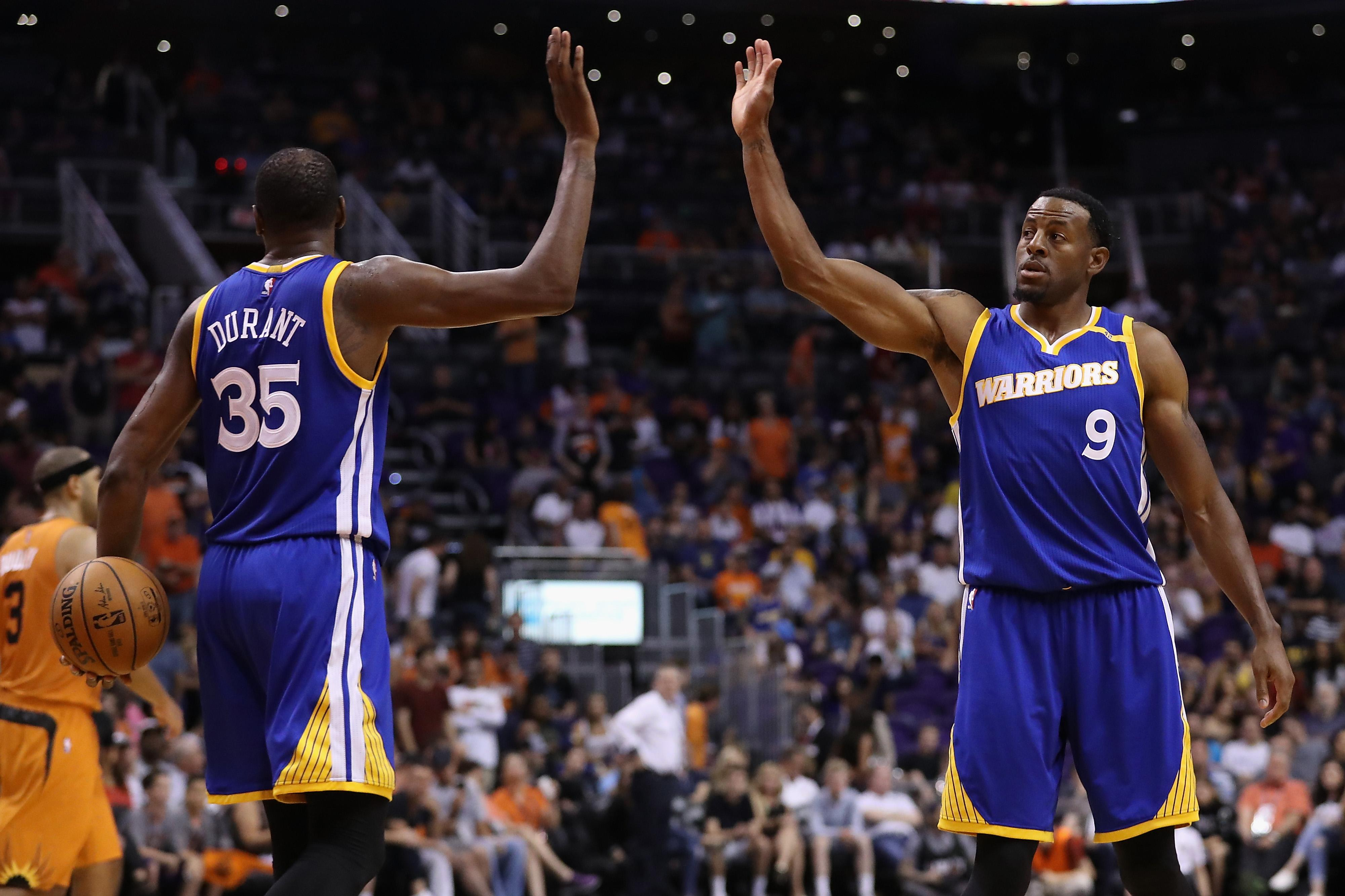 Kevin Durant Is The Greatest Scorer In NBA History, Iguodala Says