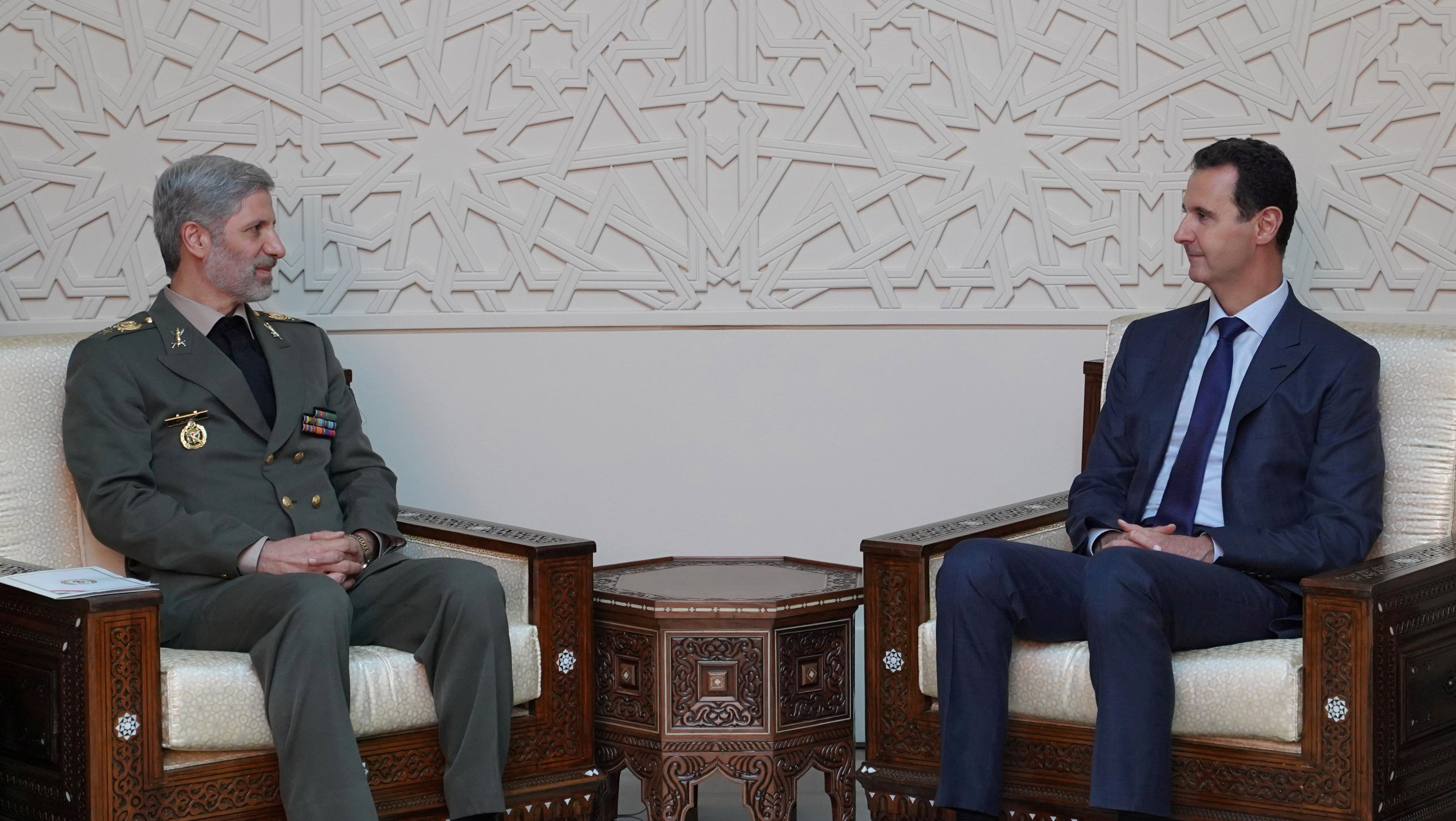 Iran Syria Agree On Military Cooperation Sign Post War