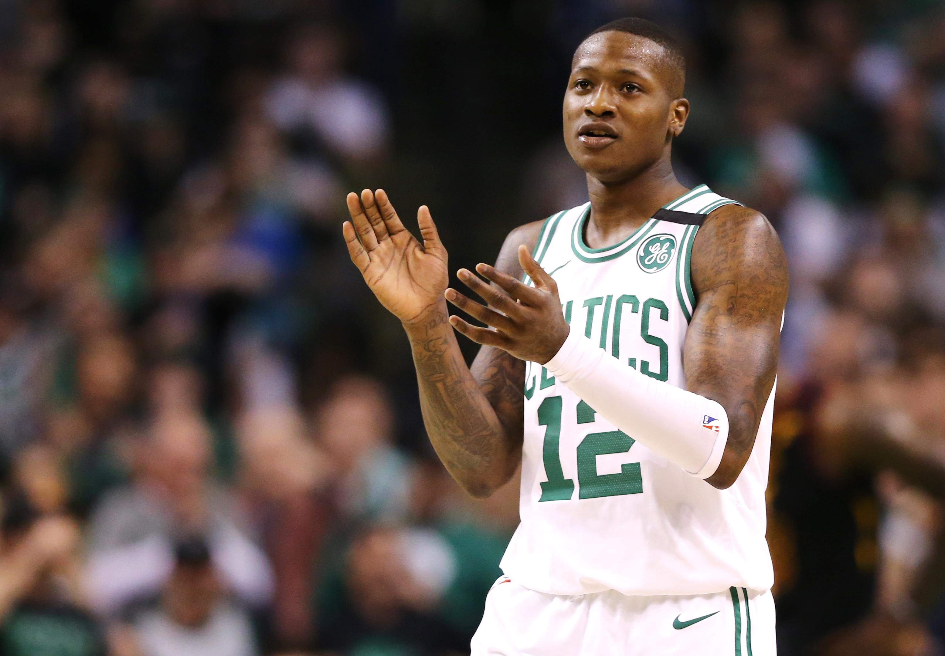 terry rozier praises kyrie irving backs celtics to be