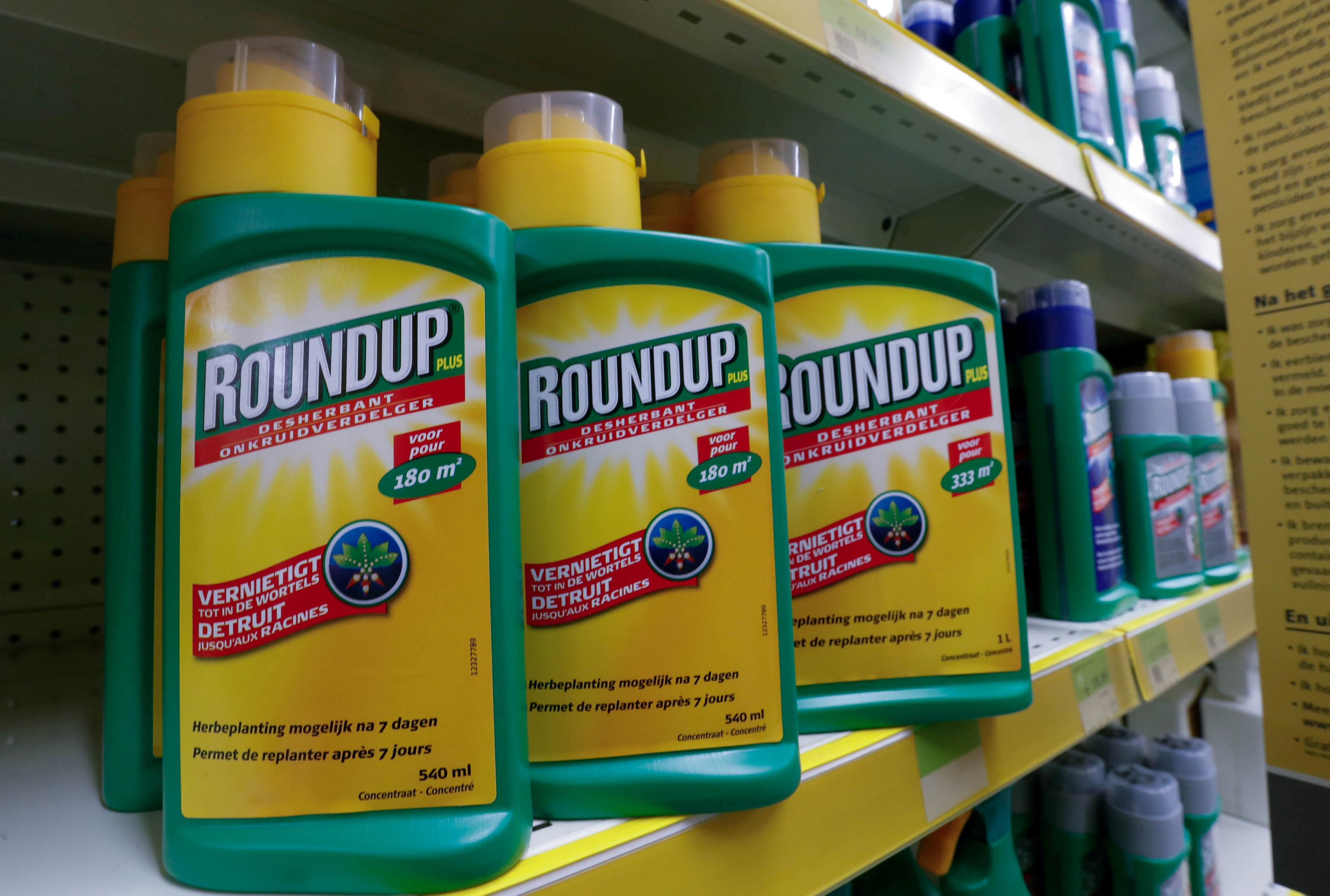 Monsanto's Roundup weedkiller atomizers