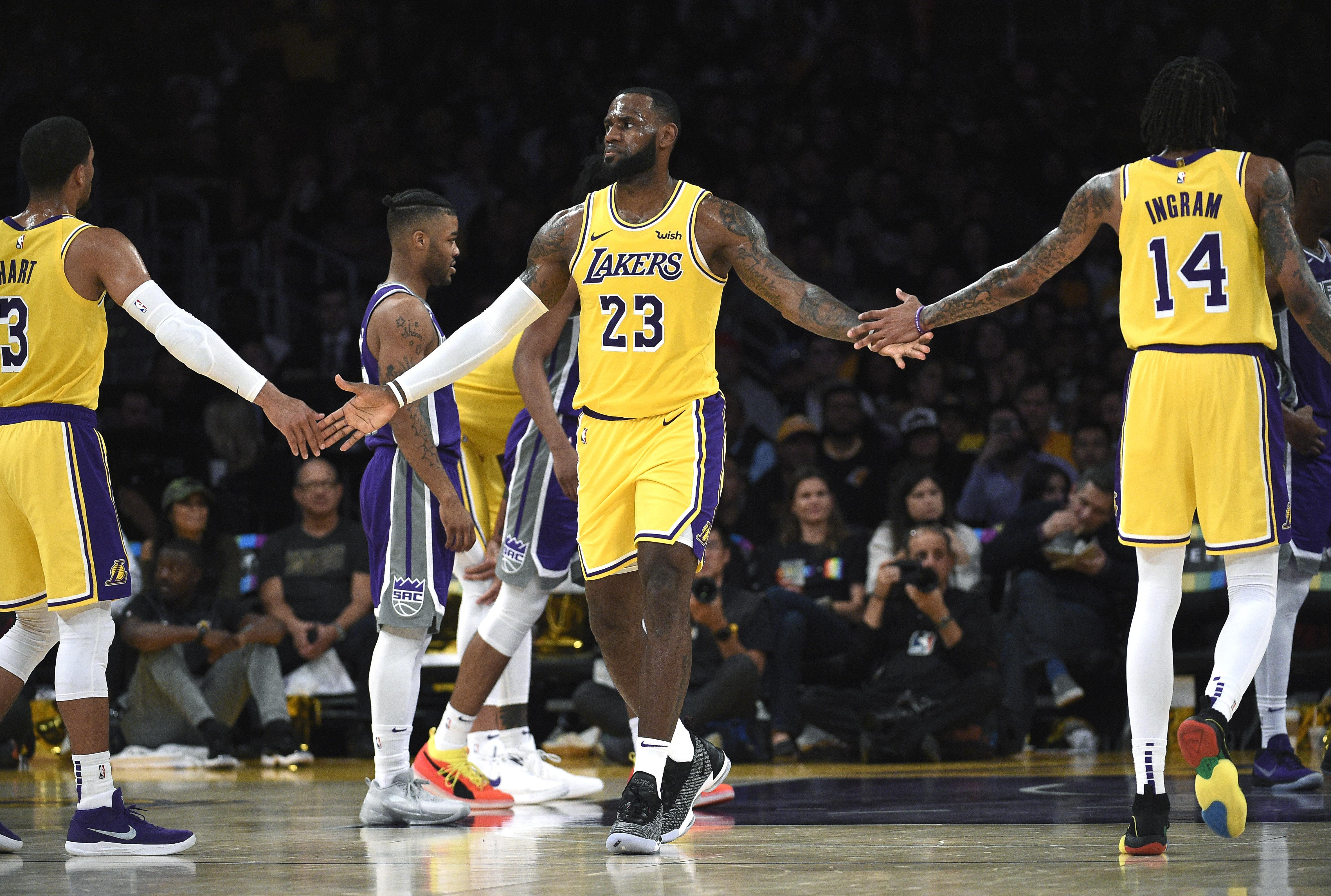 Lakers vs. Warriors 2018: Start Time, TV Channel For ...