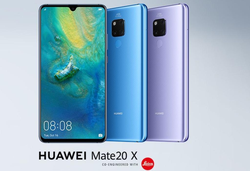 huawei mate 20 x gaming smartphone announced along with. Black Bedroom Furniture Sets. Home Design Ideas