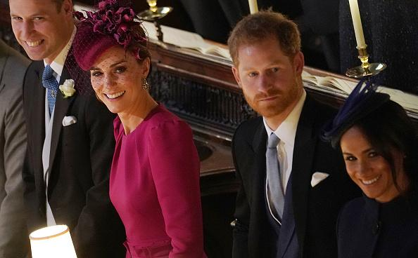 Prince William, Kate Middleton, Prince Harry and Meghan Markle