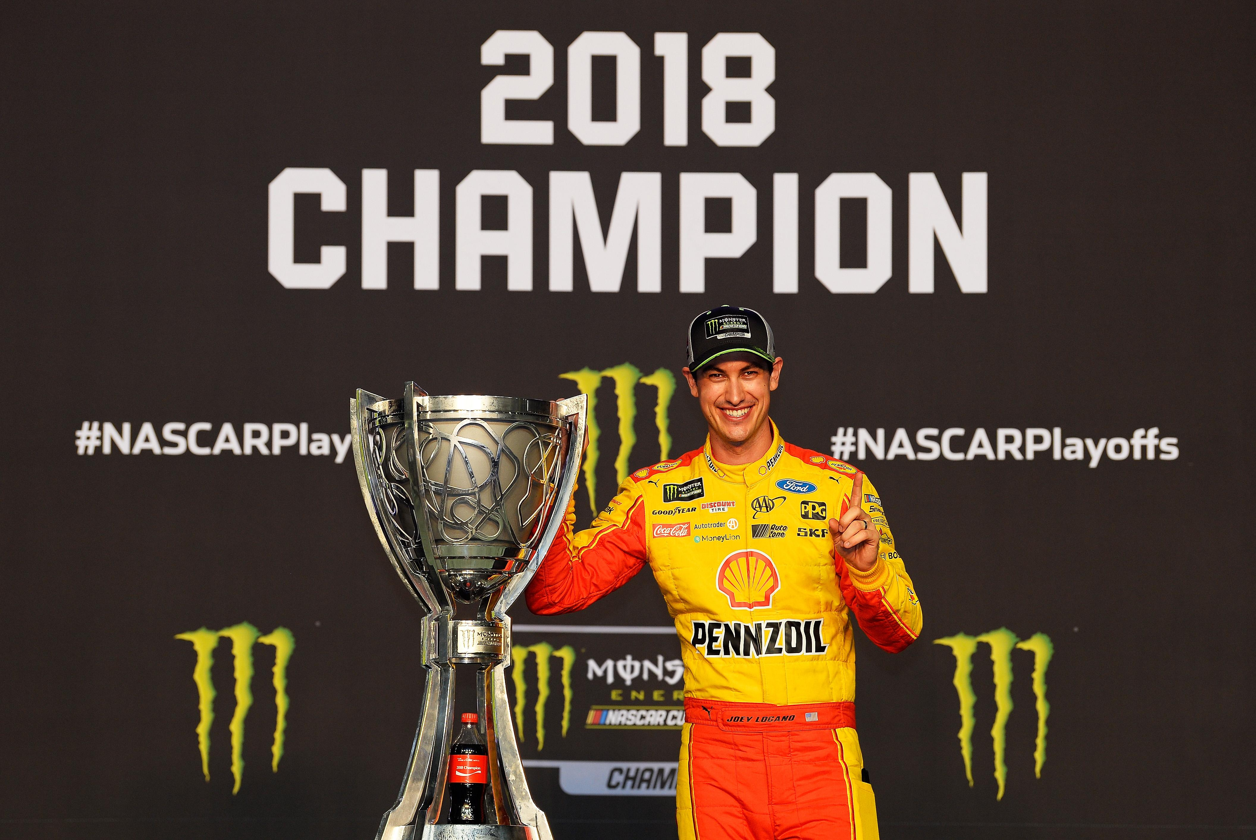Joey Logano Wins First NASCAR Cup Series Championship at Homestead-Miami Speedway