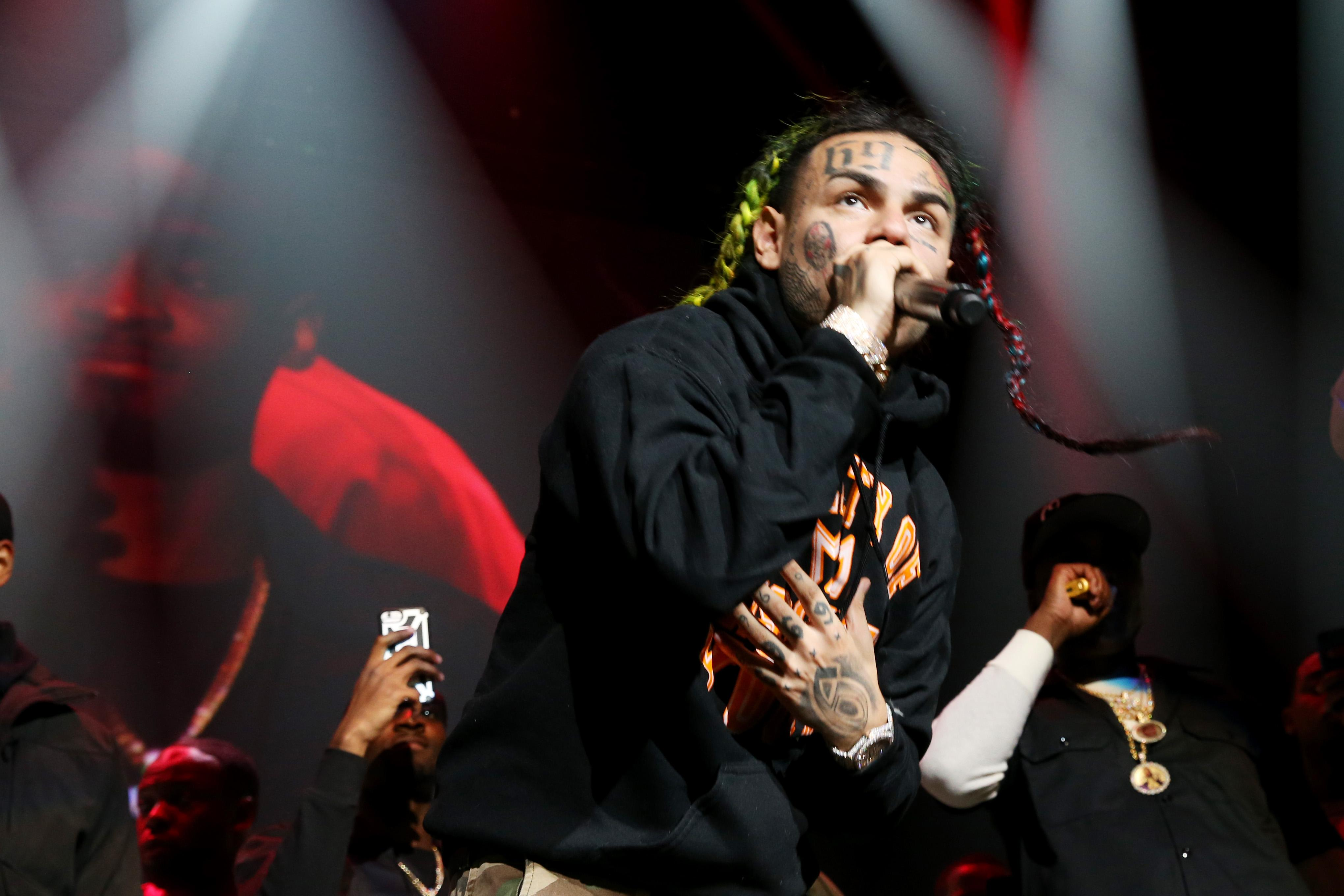 Tekashi 6ix9ine and Associates Arrested Faces Gun & Racketeering Charges