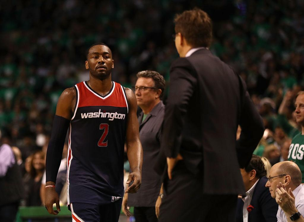 Wizards would trade John Wall, Bradley Beal