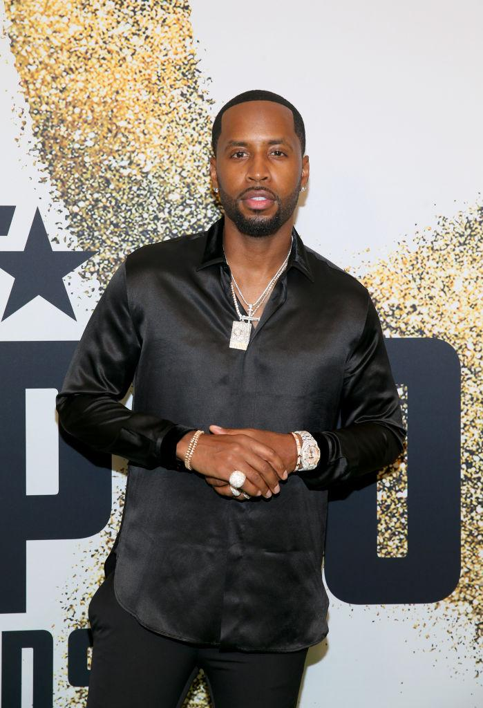 Who was safaree dating on love and hip hop new york