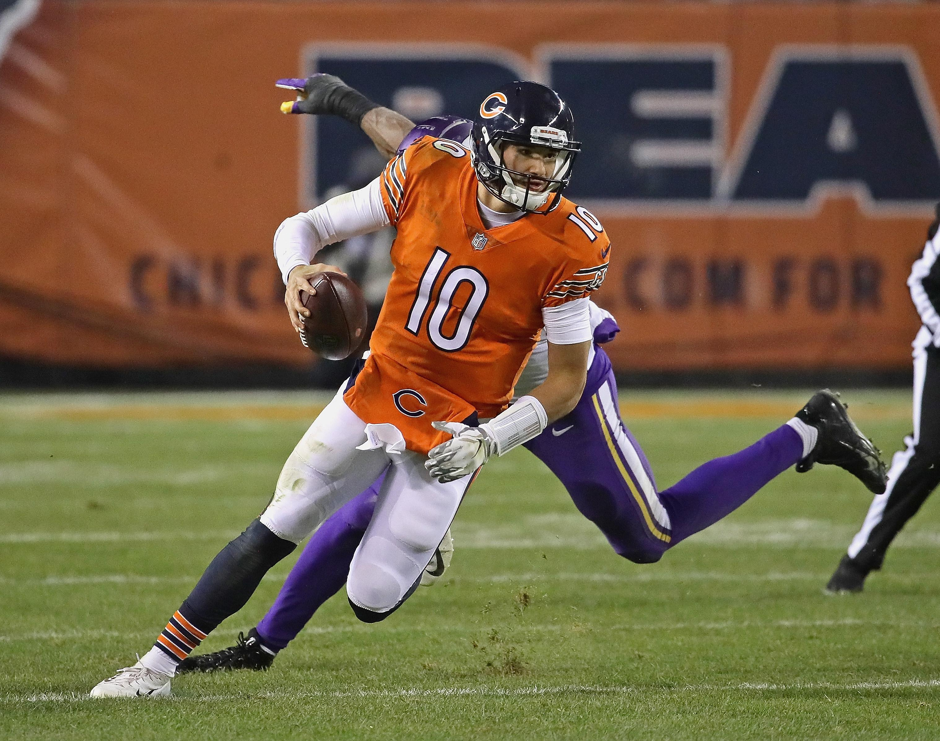 Chicago Bears News Mitchell Trubisky Could Miss Week 14