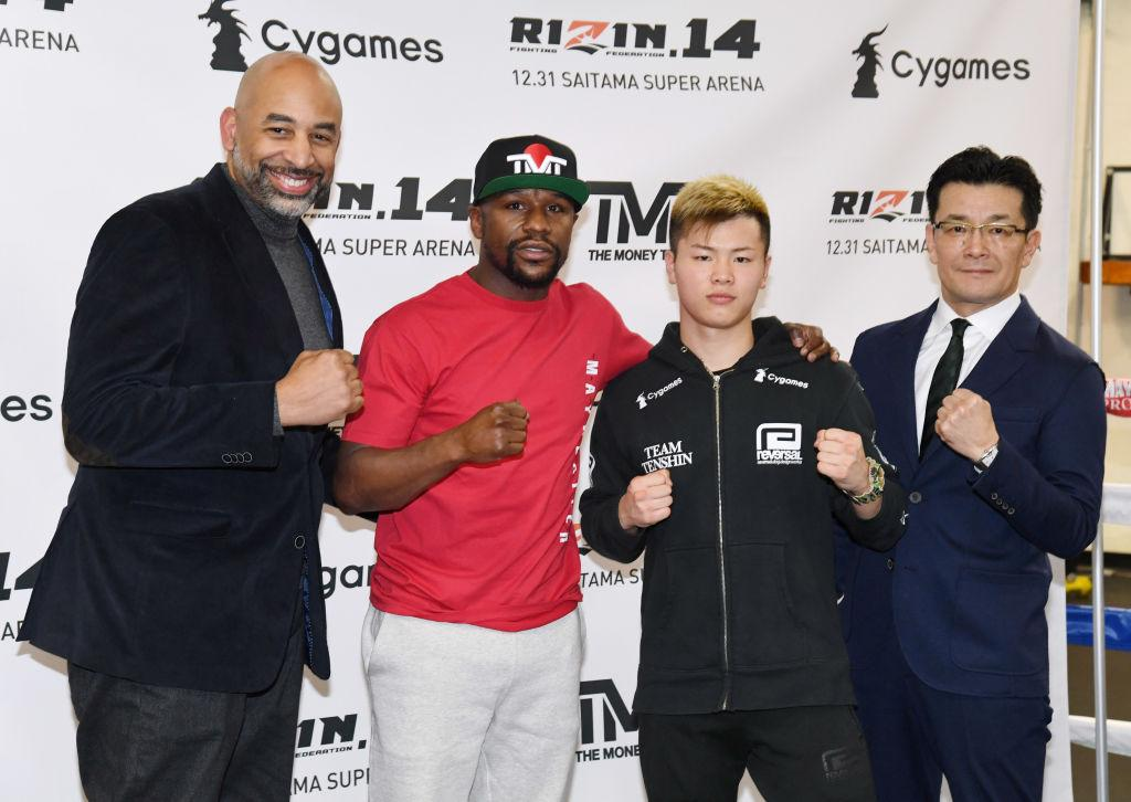 Floyd Mayweather Doesn't Care If Tenshin Nasukawa Knocks Him Out