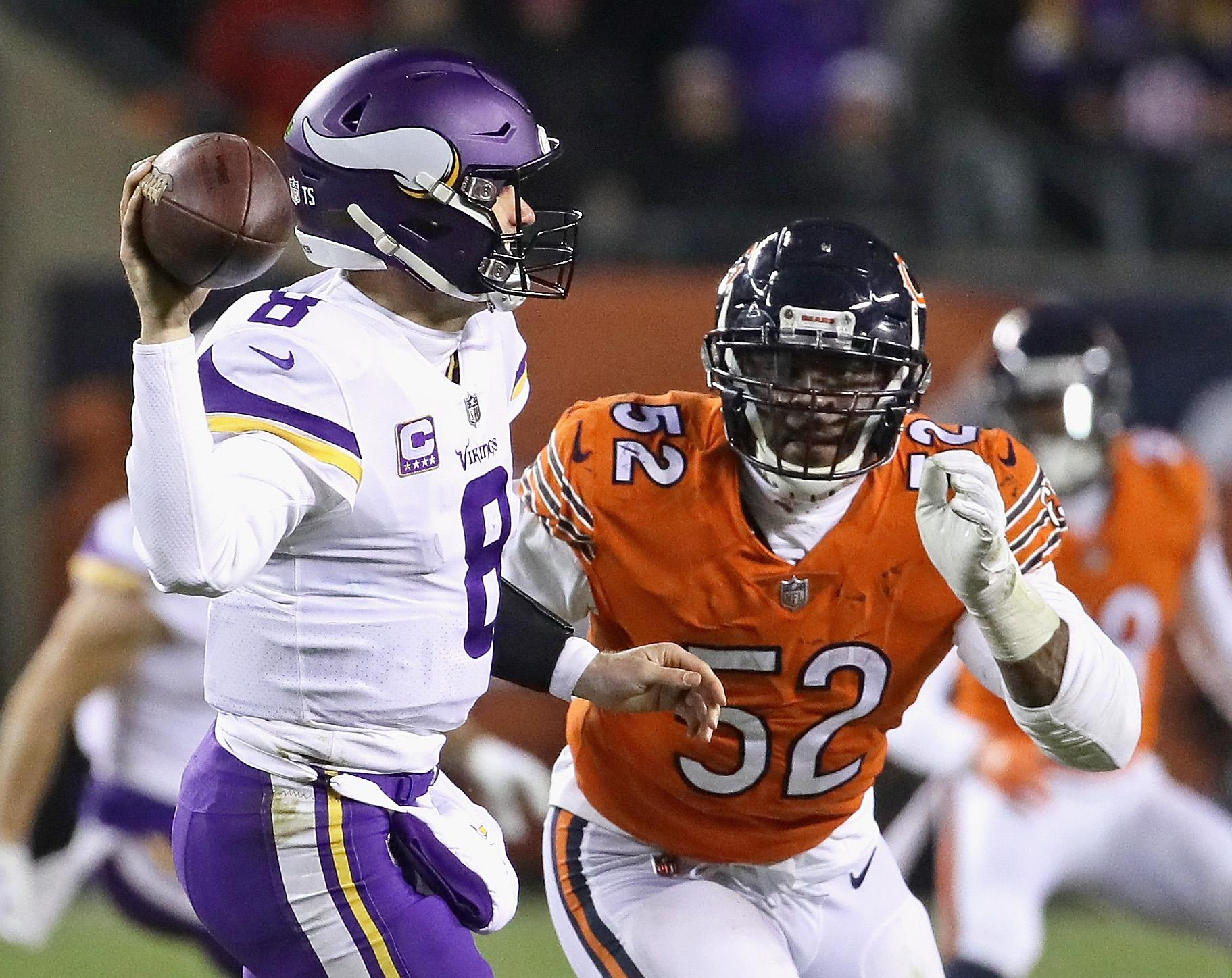 Khalil Mack Bears Vikings