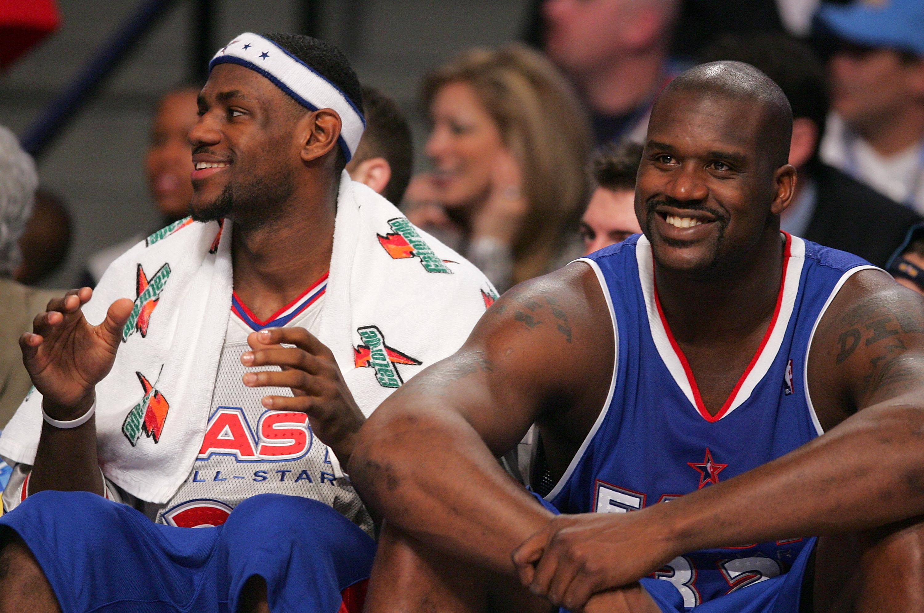 Shaq says his Lakers team would 'easily' beat the Warriors