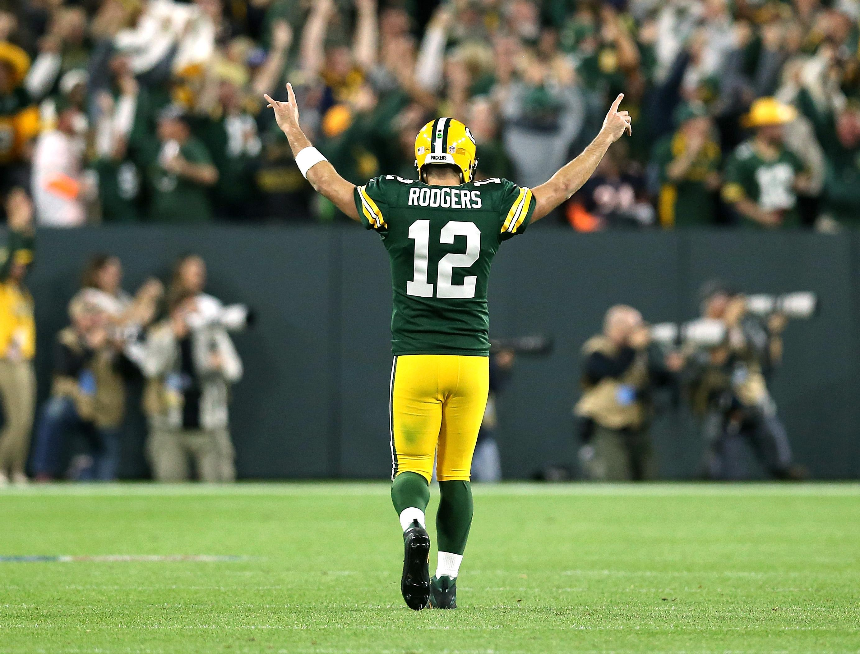 Aaron Rodgers Green Bay Packers