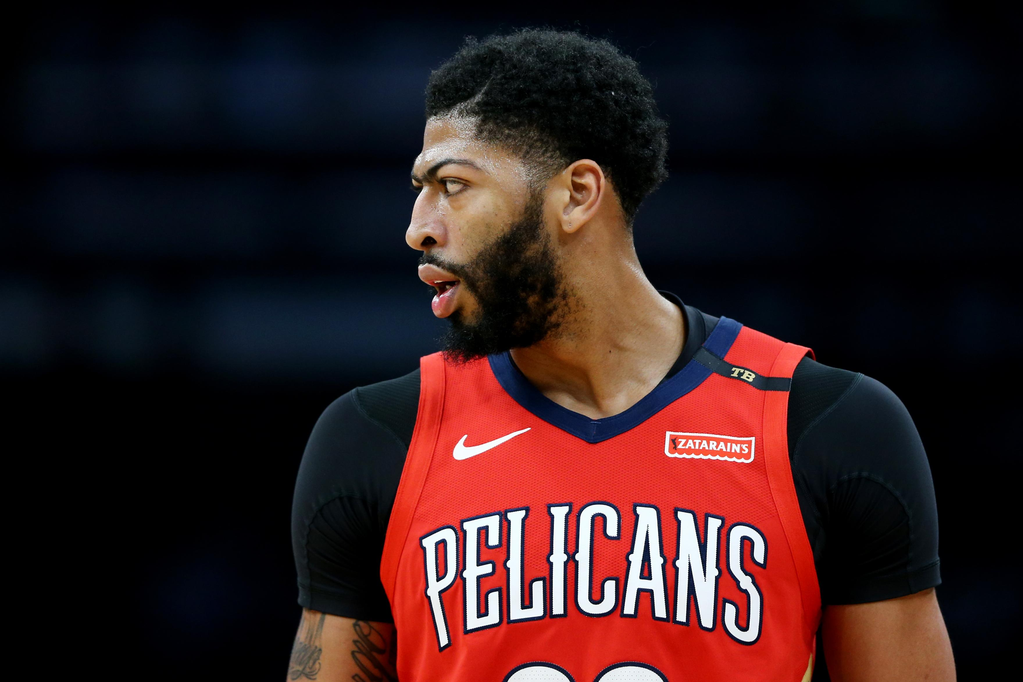 Woj: Celtics have been 'hawking' Anthony Davis for years