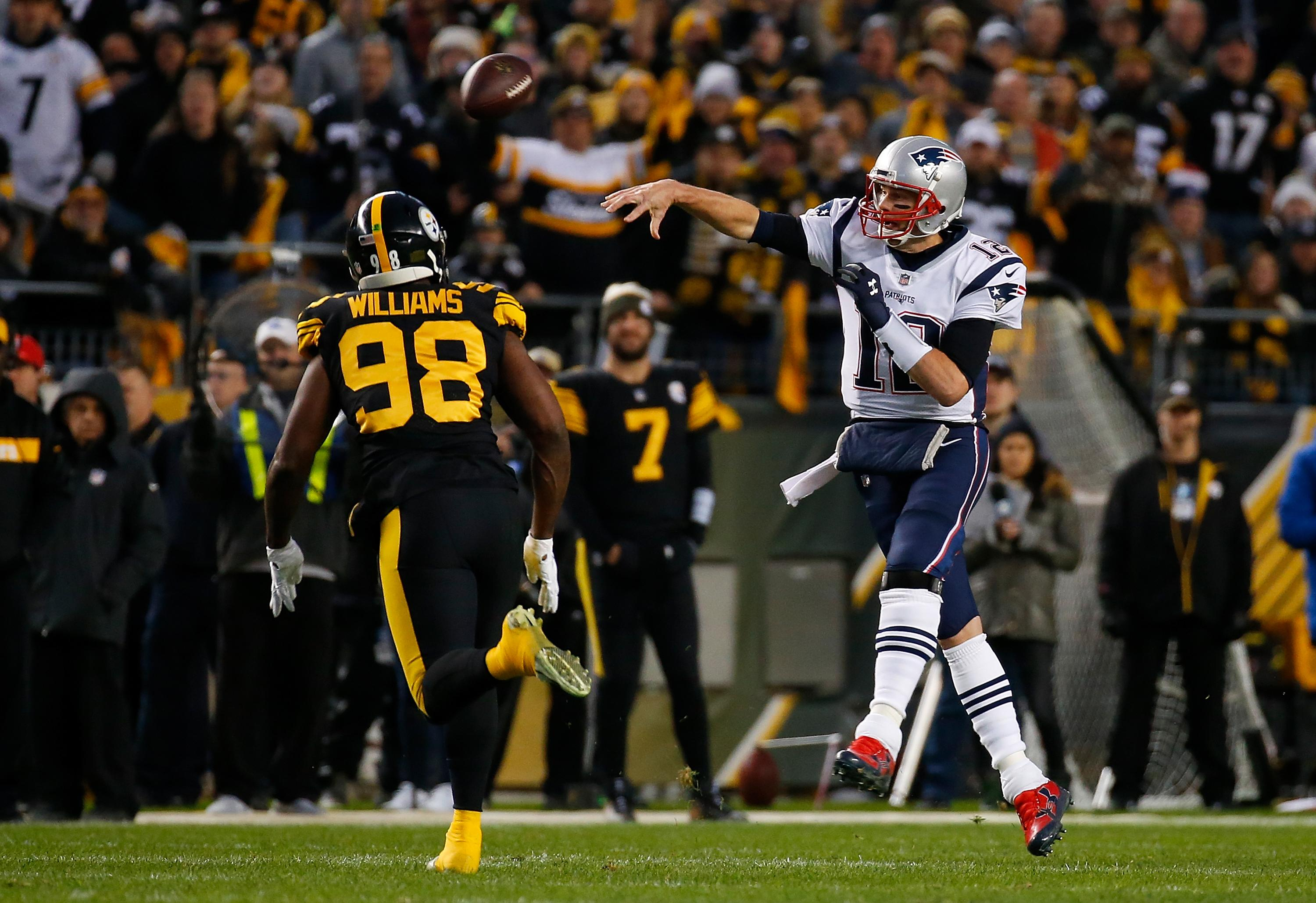 Pittsburgh Steelers Vs New England Patriots 2019