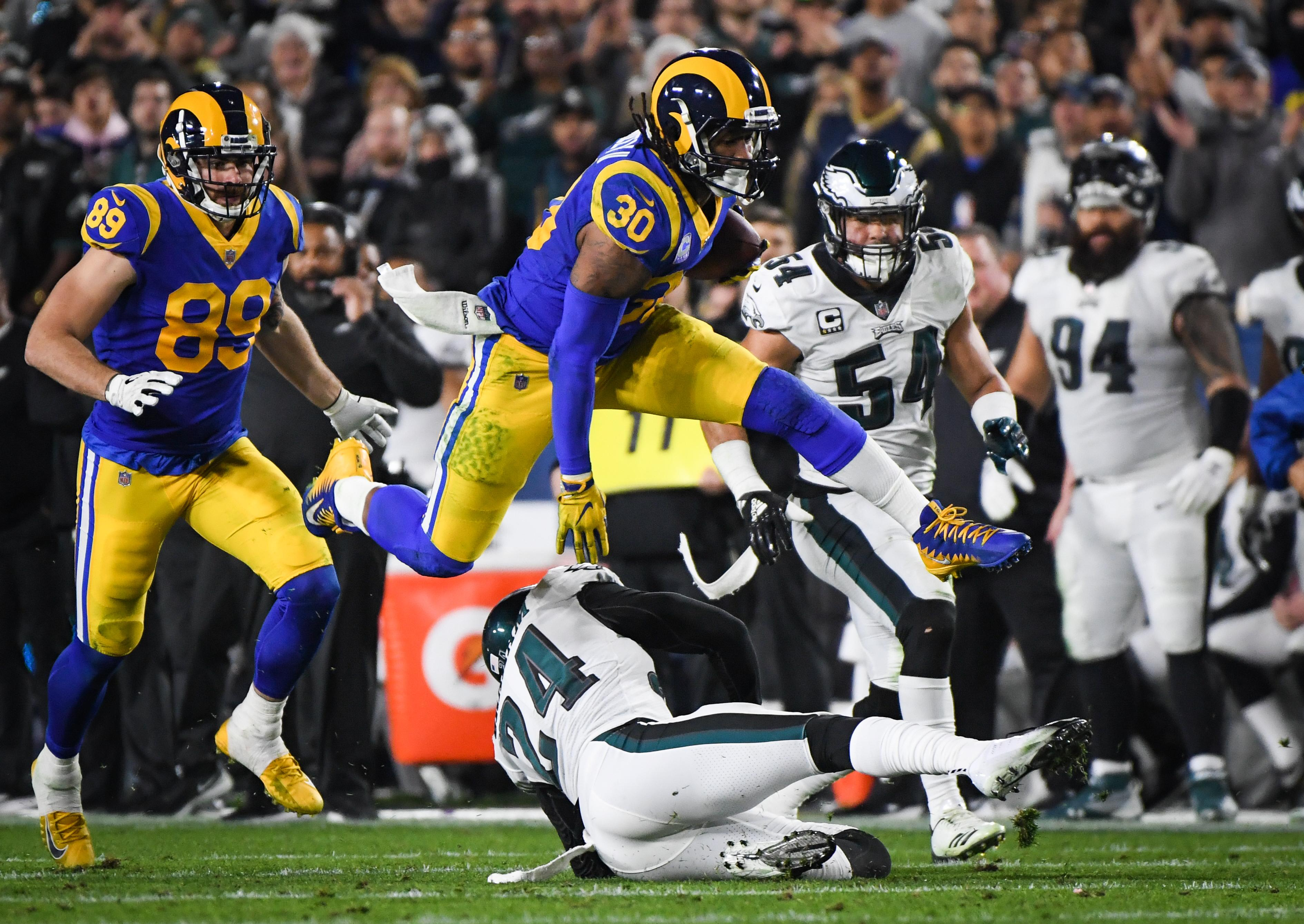 LA Rams News  Will Todd Gurley Play vs. San Francisco 49ers  Injury ... 00d1858a4