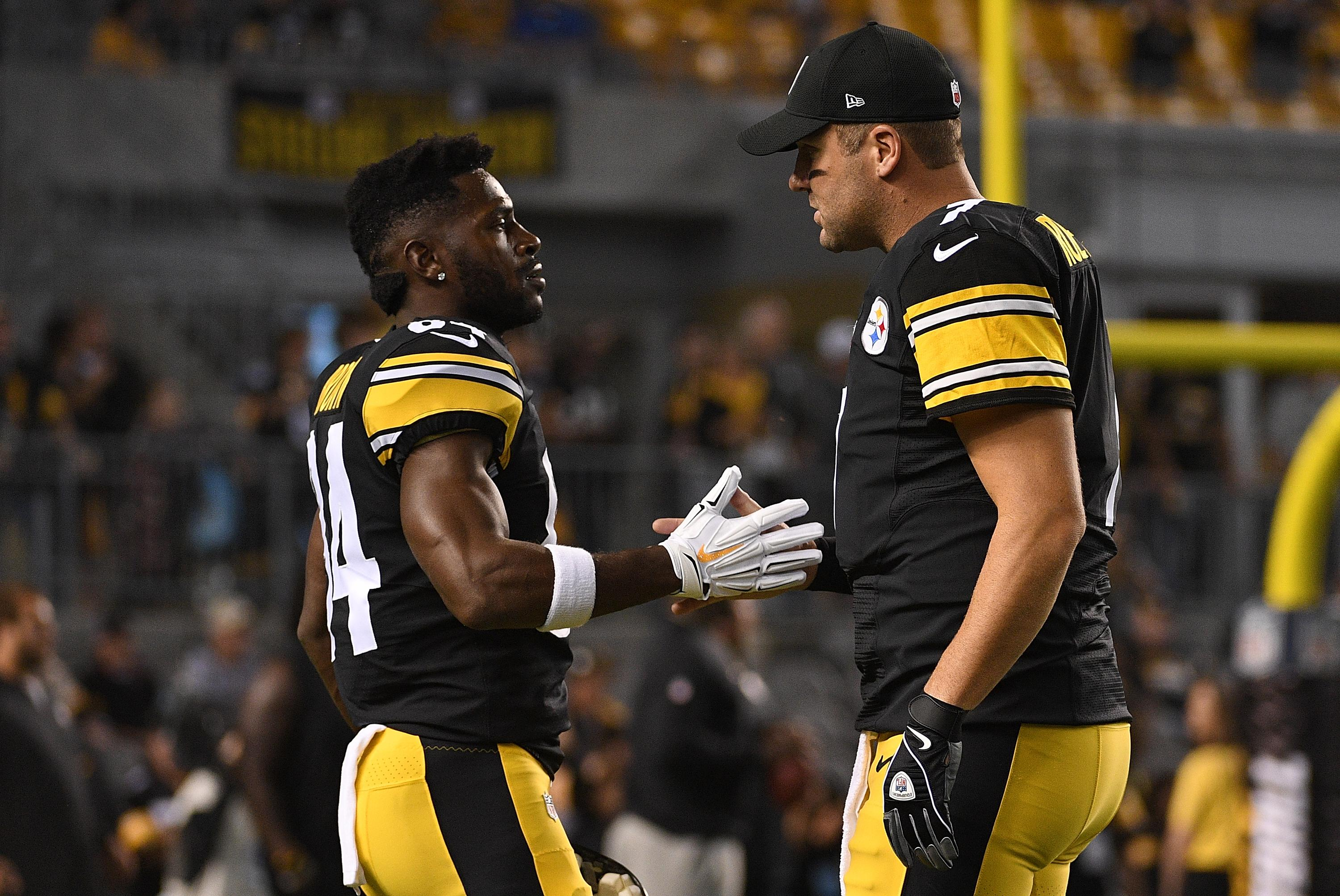 Antonio Brown Skipped Practice Most of Last Week After Dispute With Teammate