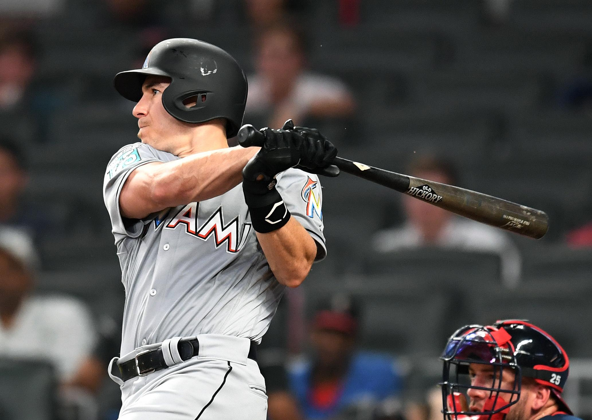 JT Realmuto Marlins Braves
