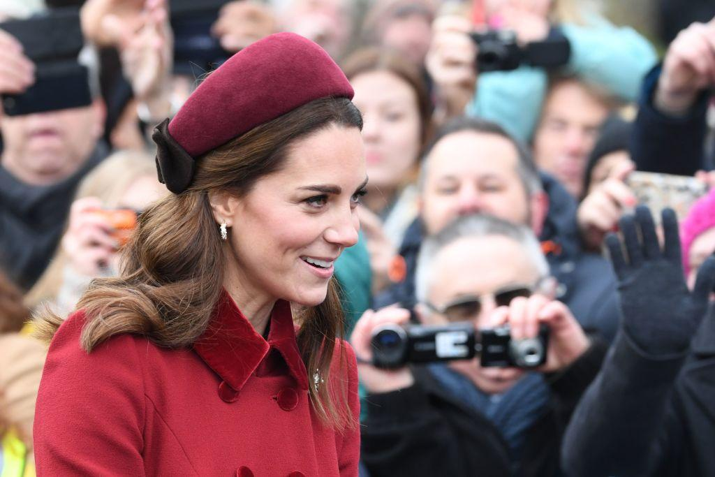 Duke and Duchess of Cambridge join Queen at Sandringham church service