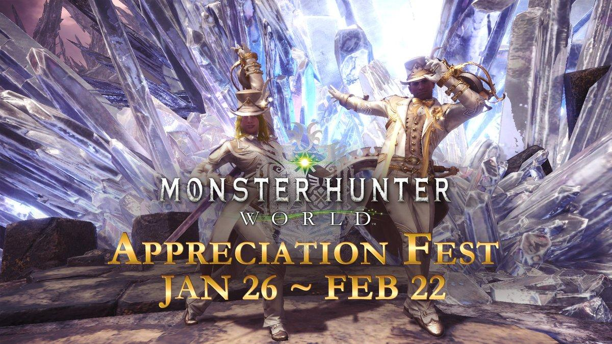 Monster Hunter World is crossing over with The Witcher next month