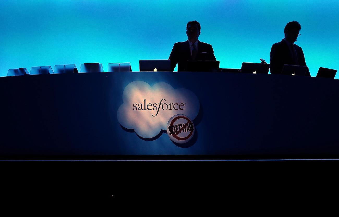 Salesforce Stock Drops 8% On News Of $15B Tableau Acquisition