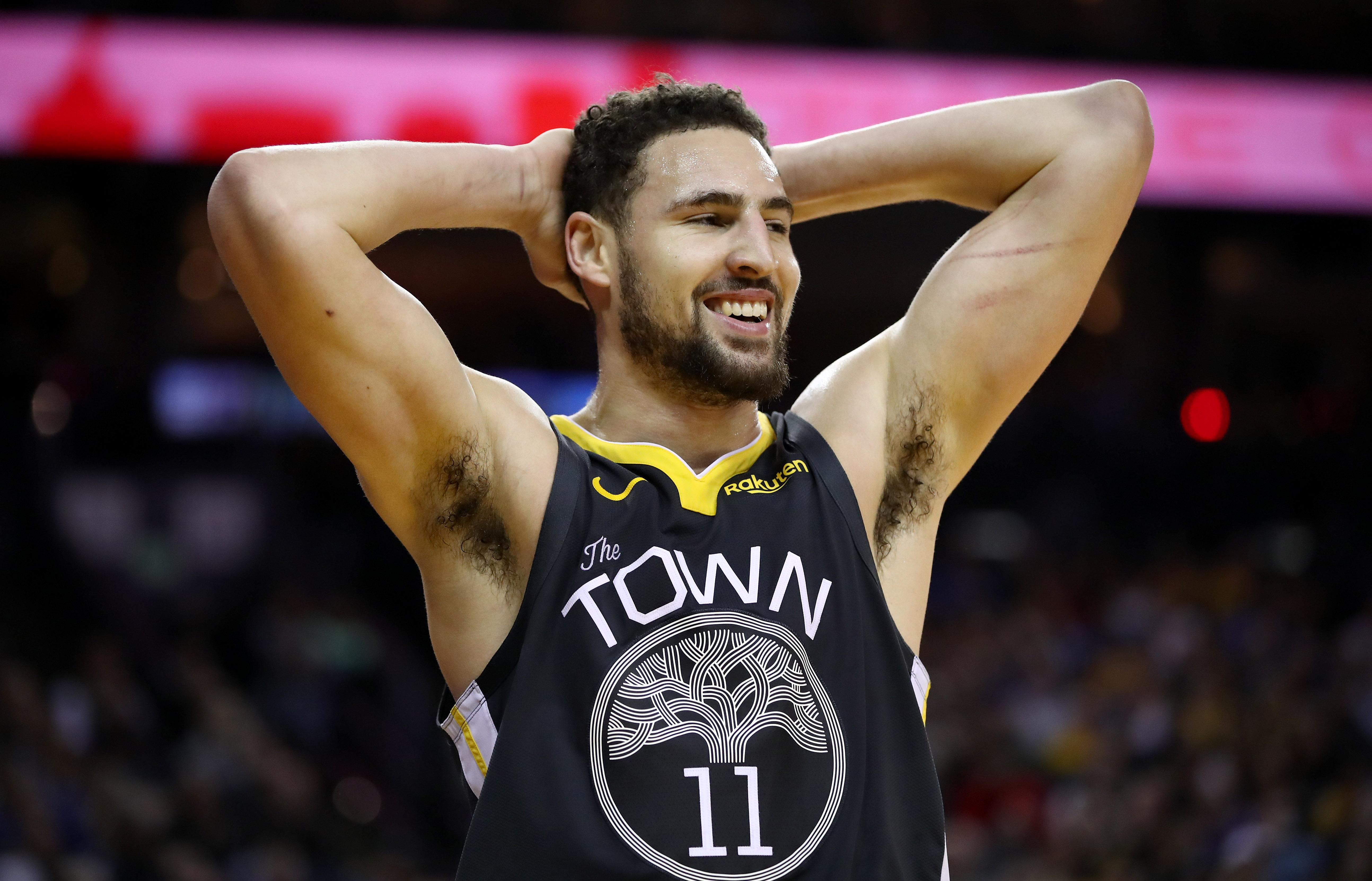 7f386b00a3c NBA Rumors  Klay Thompson Likely To Follow PG13 Snub Of LA Lakers