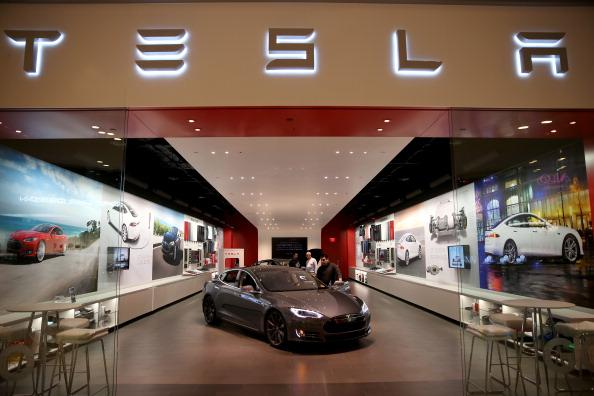 Electric carmaker Tesla's shares fall after surprise CFO exit