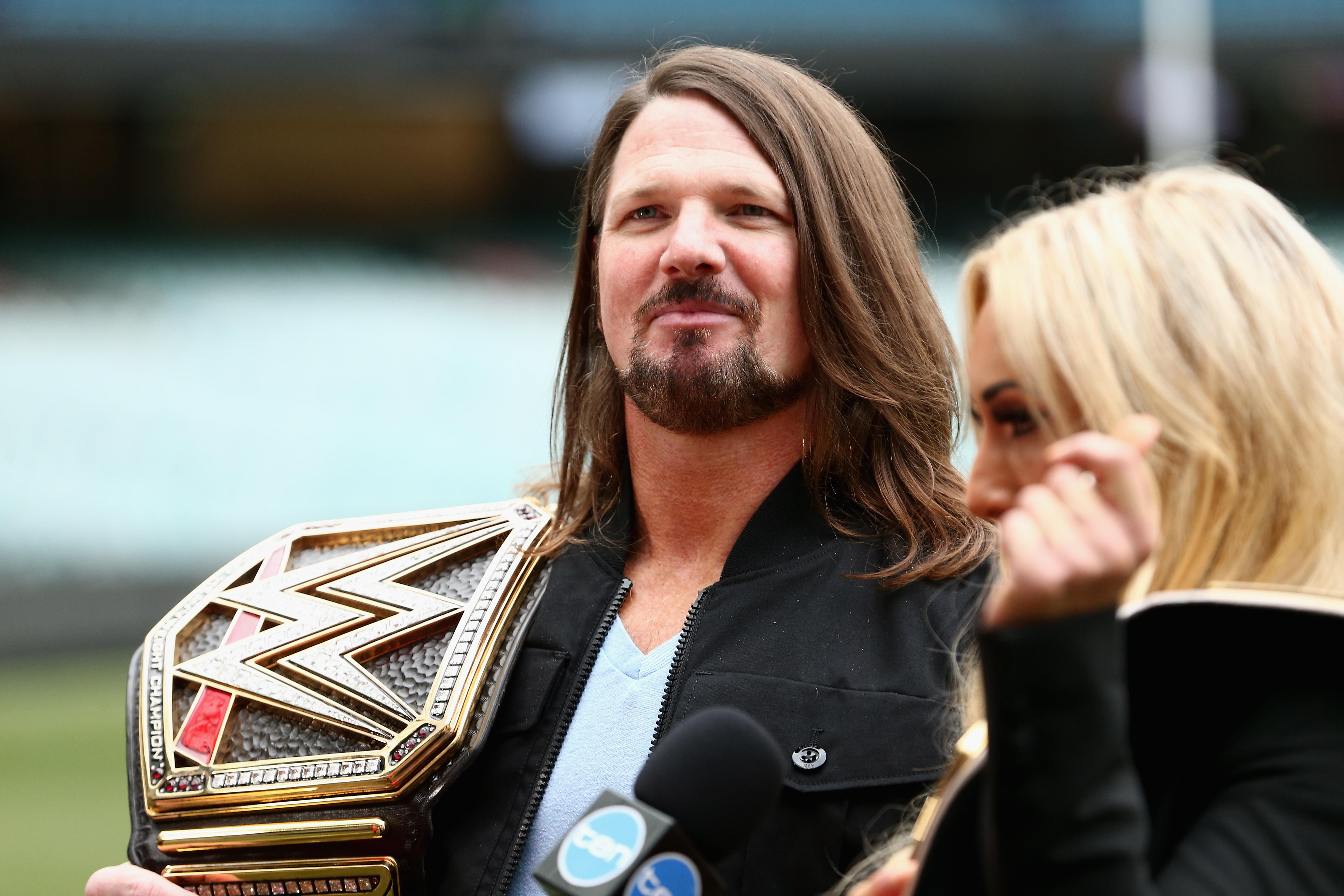 Rumor - AJ Styles' Signs a New WWE Contract, Styles Denies those Rumors