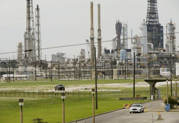 The Baytown Refinery of ExxonMobil in Texas