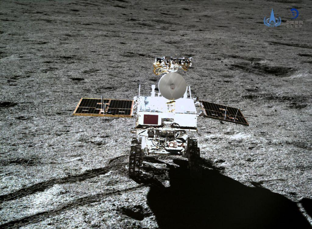 Chinese Satellite Reveals Image of Moon's Far Side and Earth Together