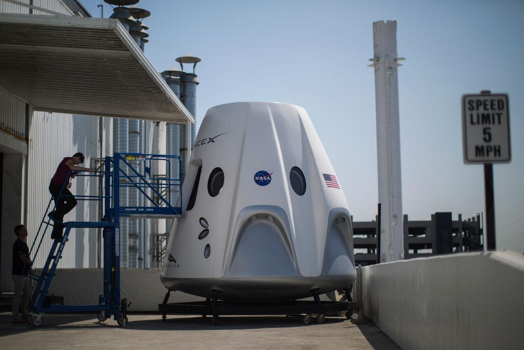 SpaceX Crew Dragon 2 spacecraft