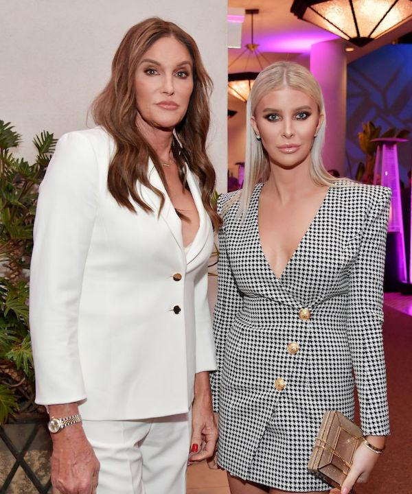 Caitlyn Jenner and Sophia Hutchins