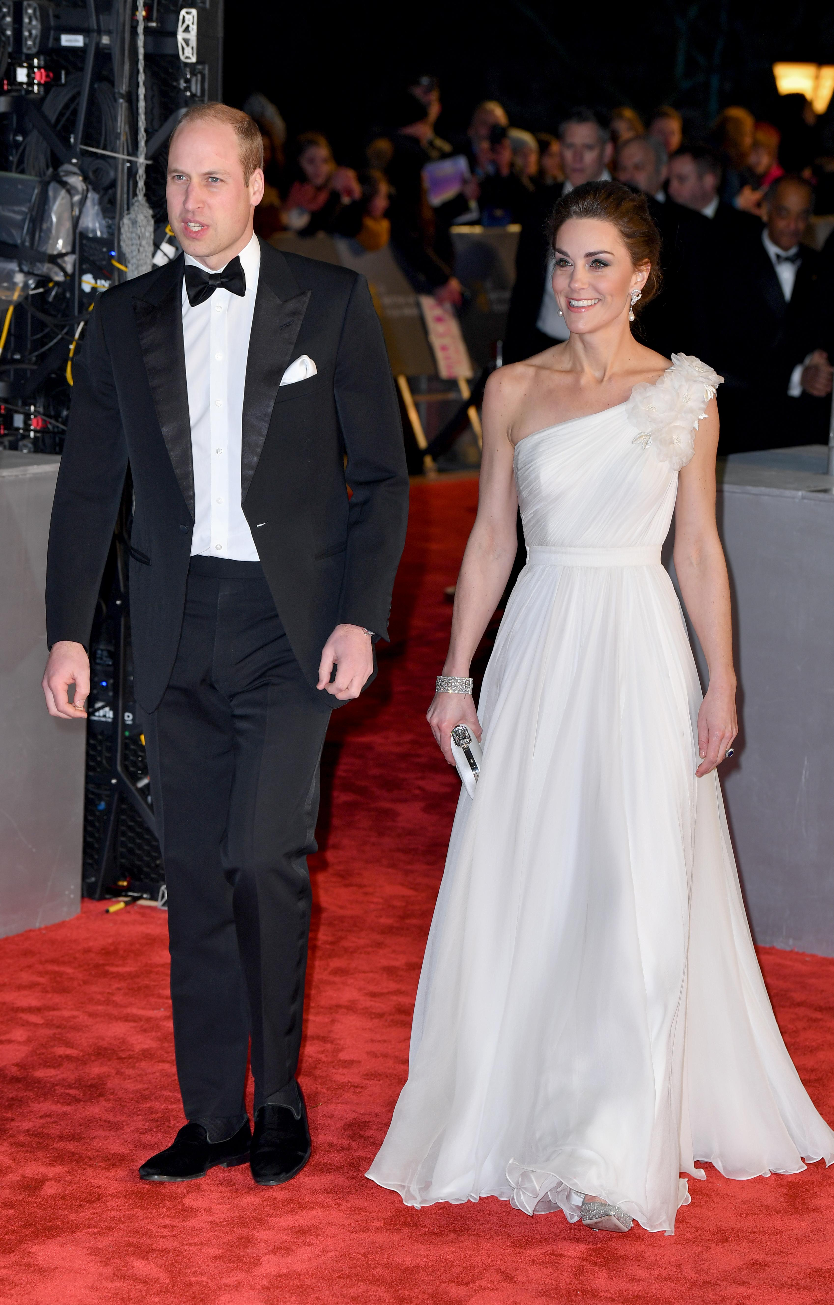 William and Kate BAFTAs