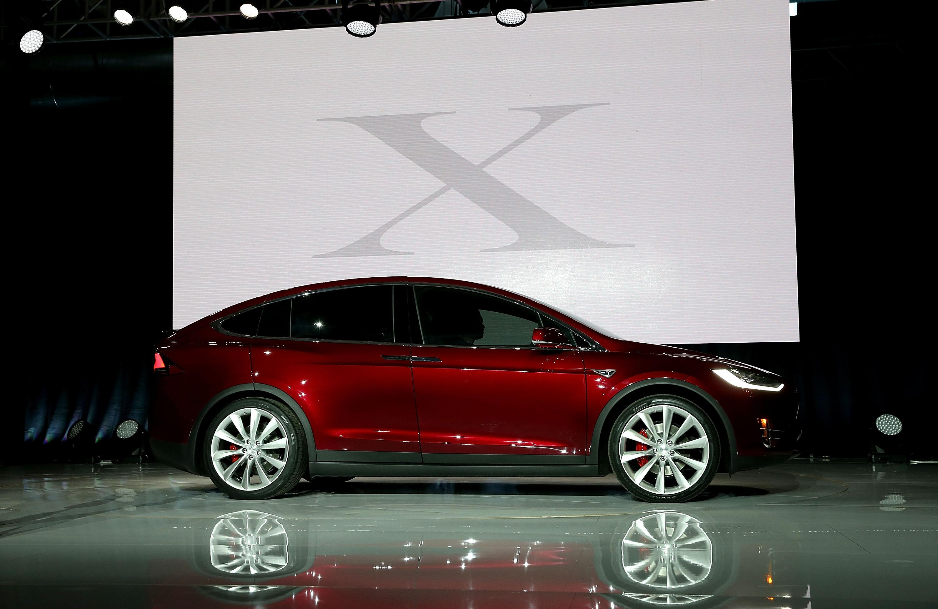 Tesla Model X Showcase