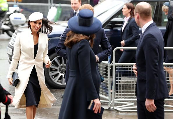 Prince William, Kate Middleton, Meghan Markle and Prince Harry