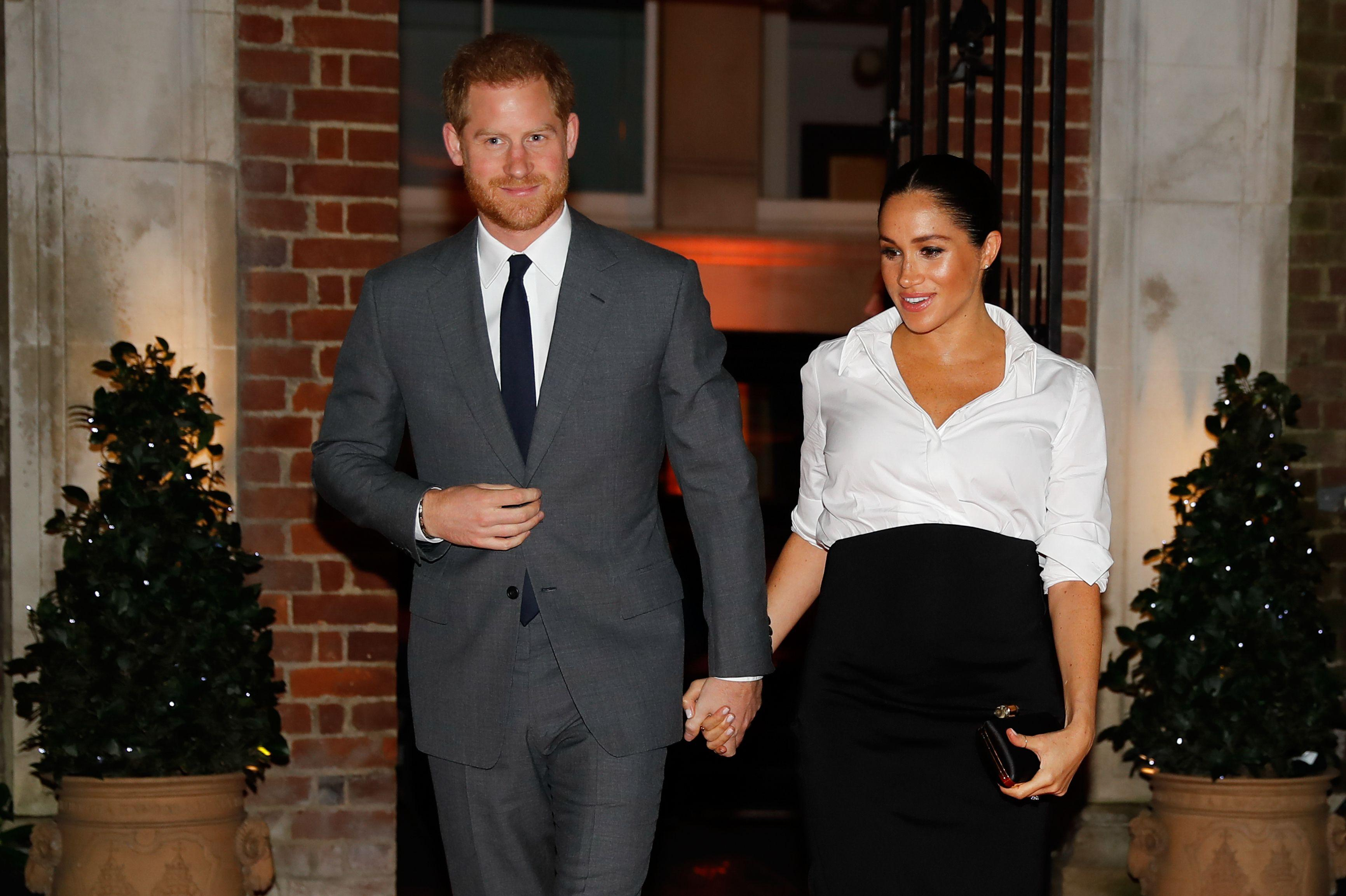 Meghan and Harry moving