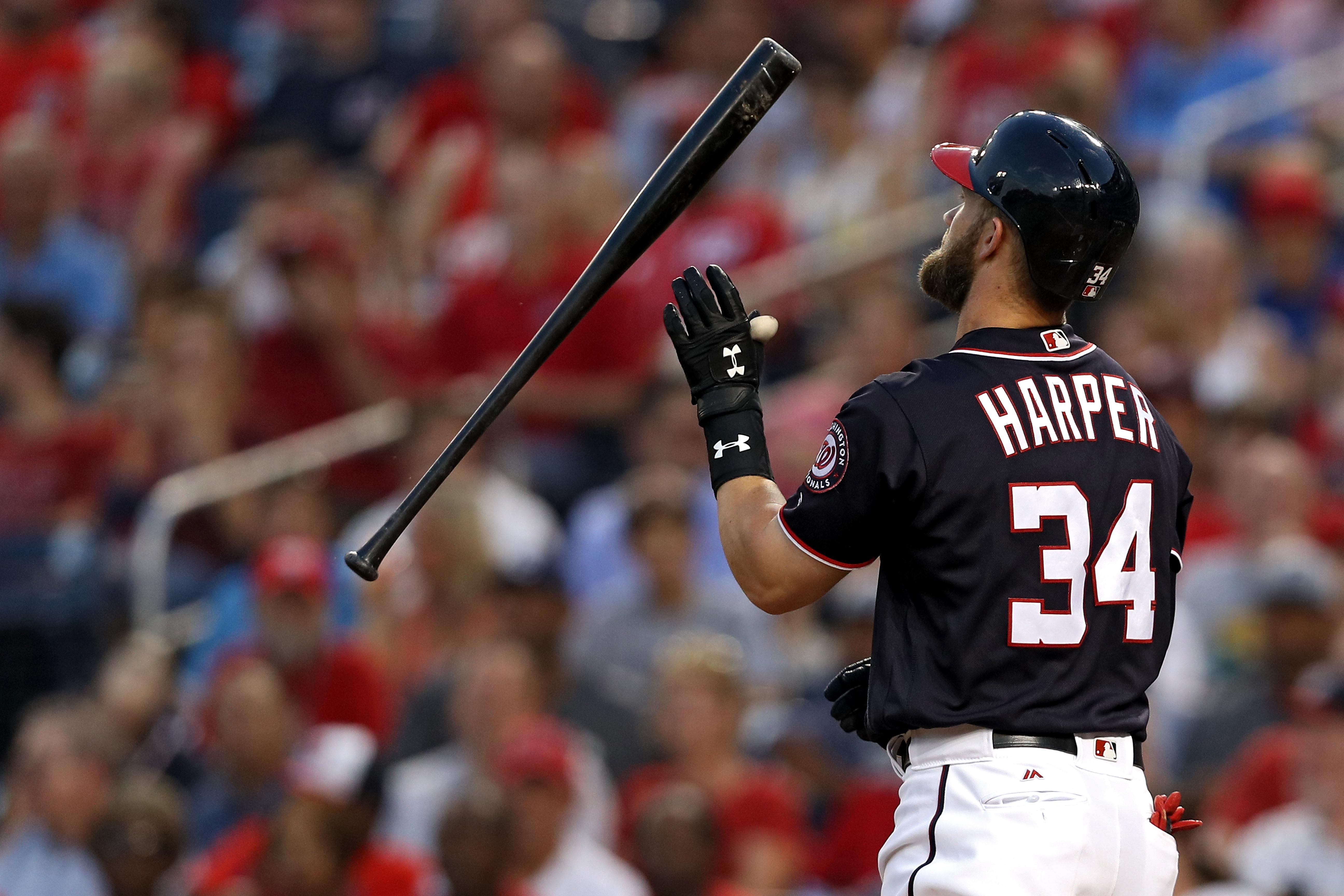 Bryce Harper Does Not Plan to Re-sign with Nationals