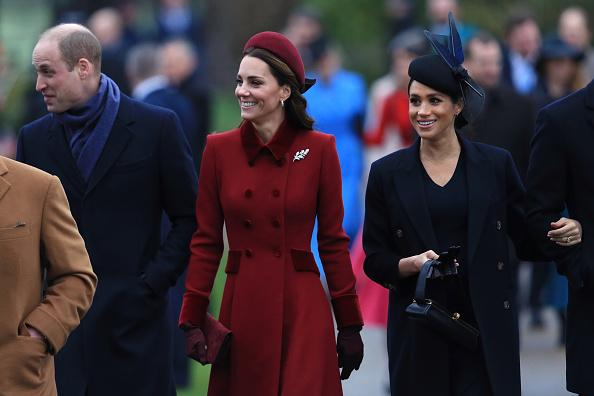 Kate Middleton Prince William and Meghan Markle