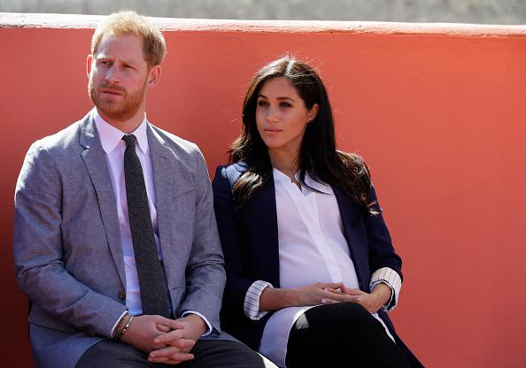 Prince Harry Jokes 'Is It Mine?' When Asked About Meghan Markle's Pregnancy