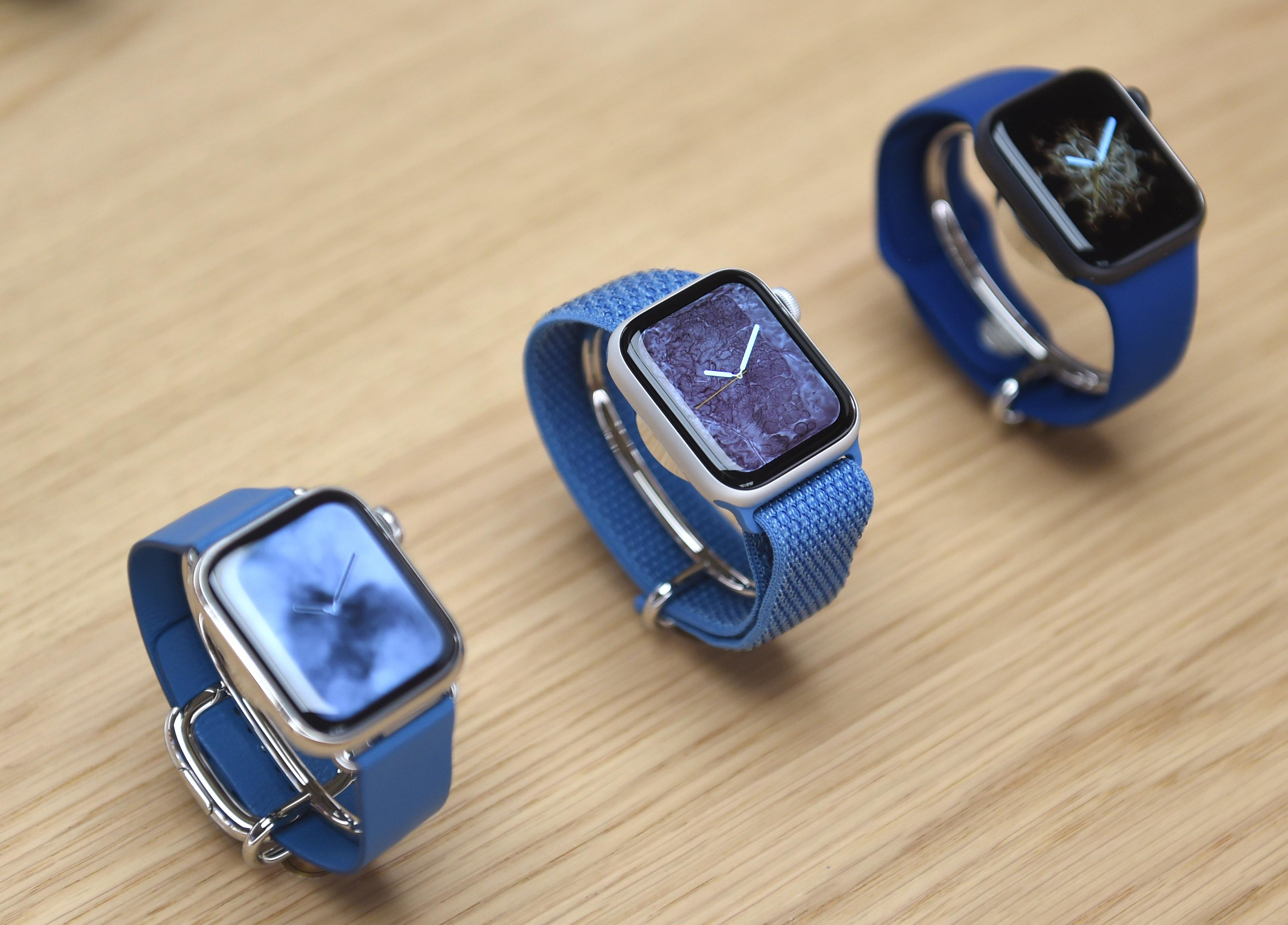 Blue Apple Watches