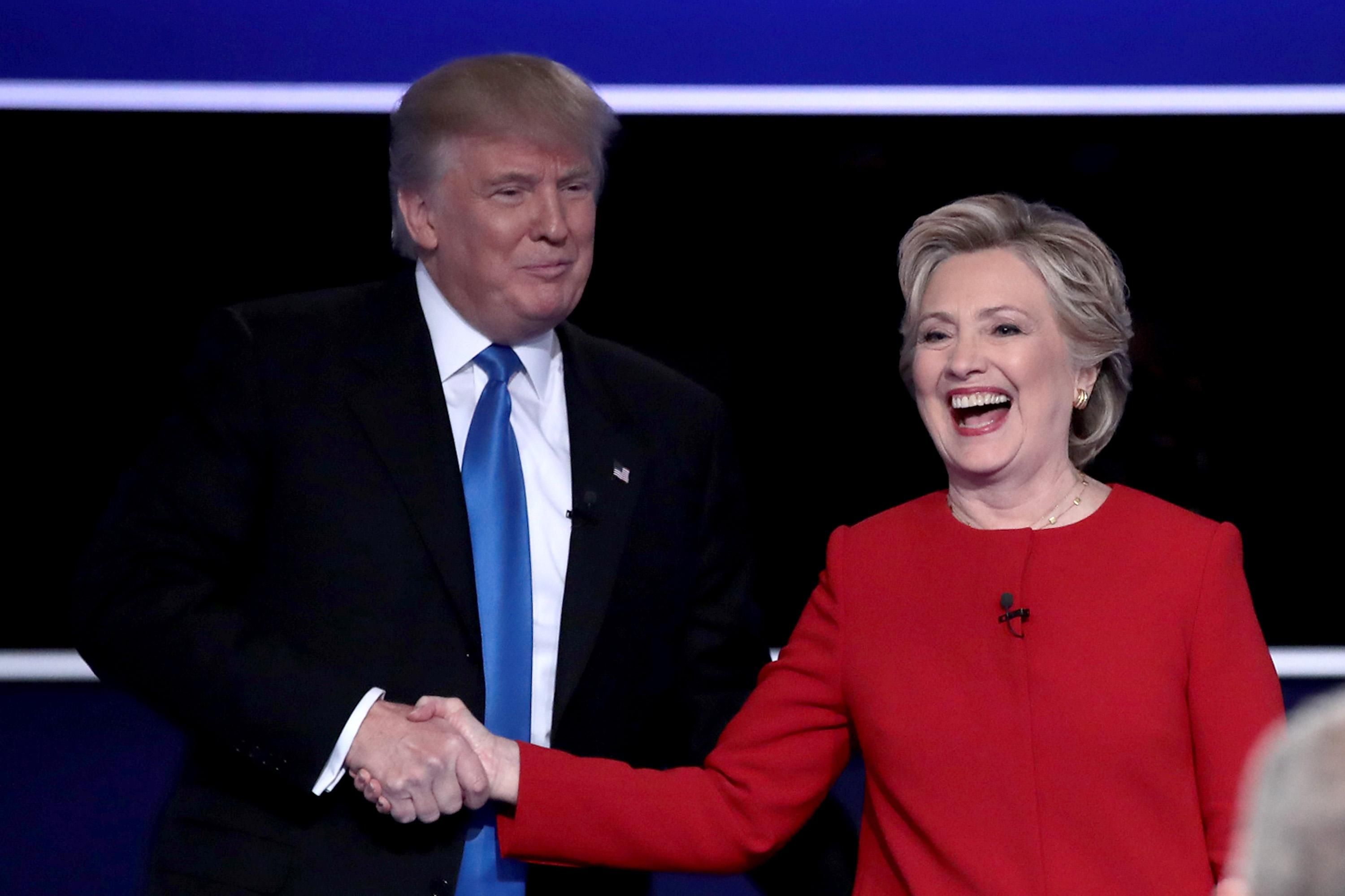 GettyImages-Trump and Hillary
