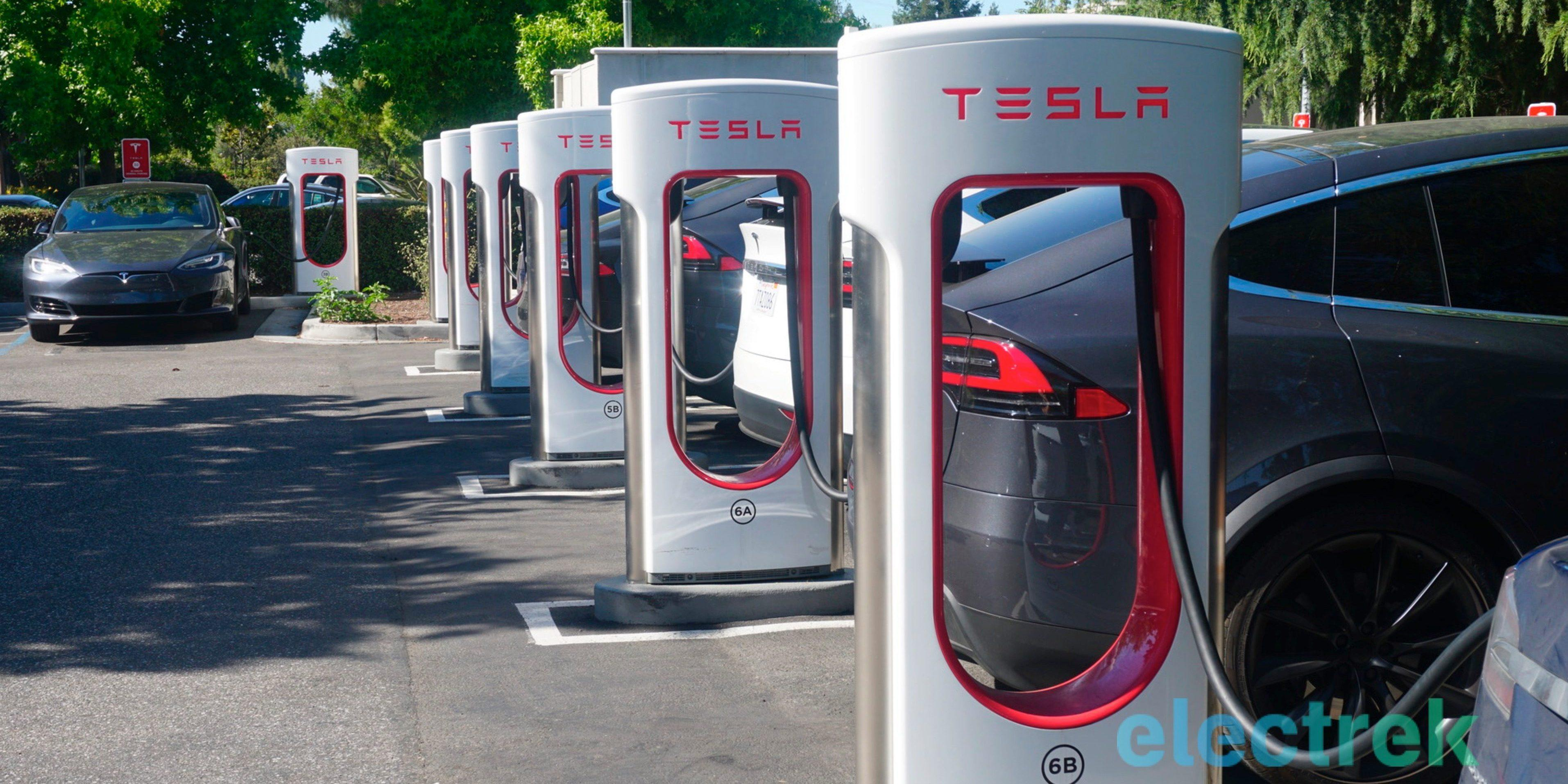 Tesla Upgrades Superchargers In Europe That Charges Faster