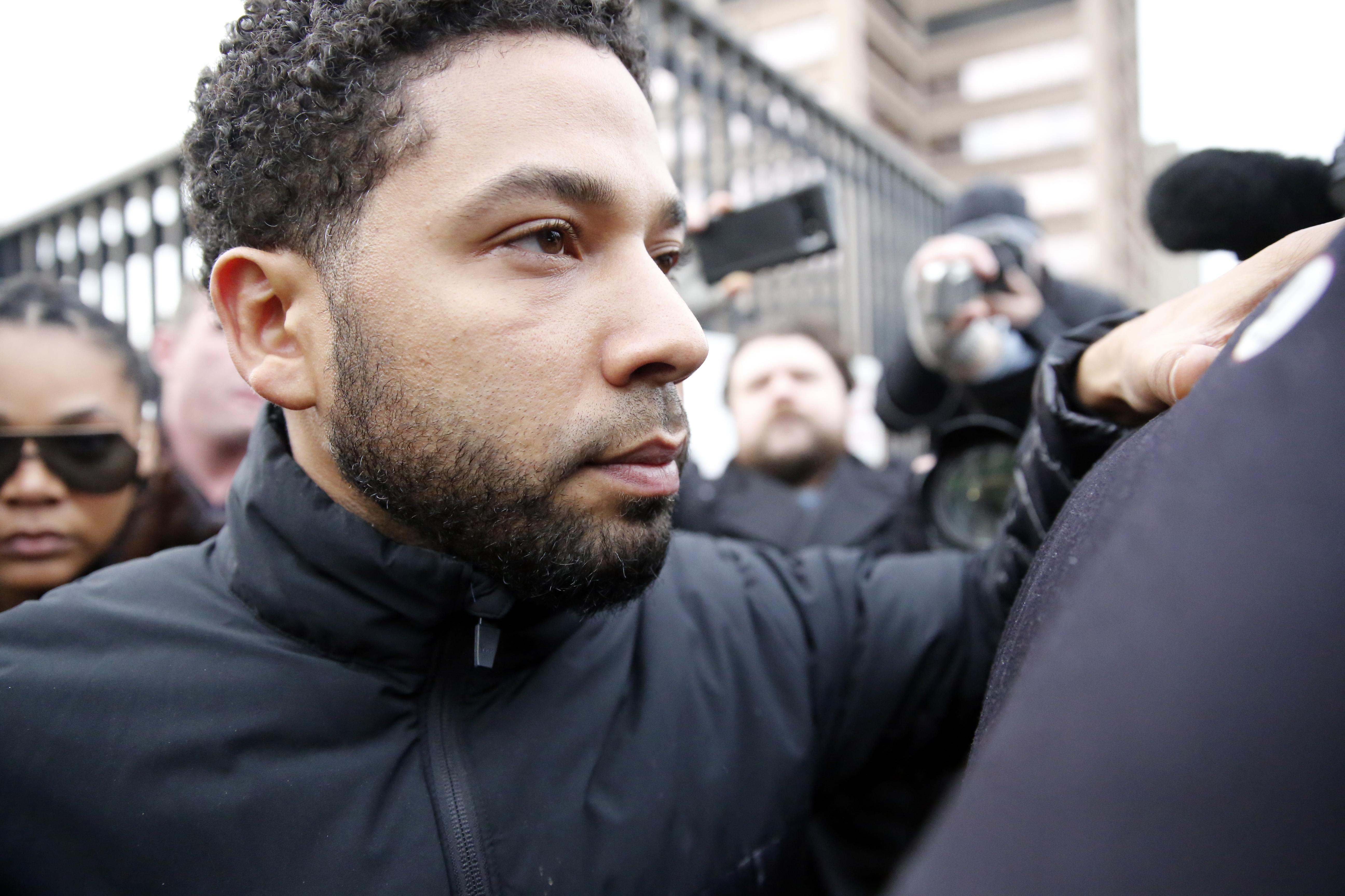 Actor Jussie Smollett indicted on 16 counts by grand jury