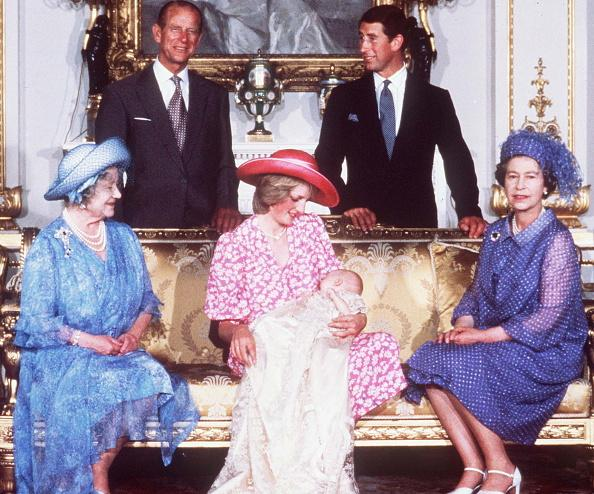 Prince Philip, Queen Mother, Princess Diana, Queen Elizabeth, Prince Charles, Prince William