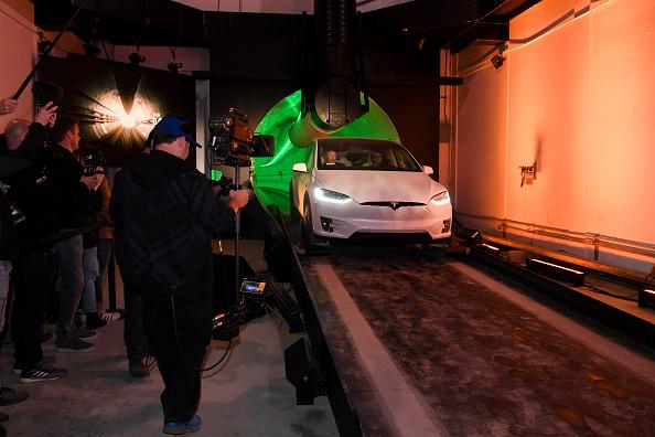 The Boring Company Test Tunnel