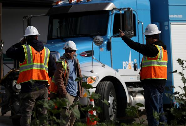 PG&E Update Commission