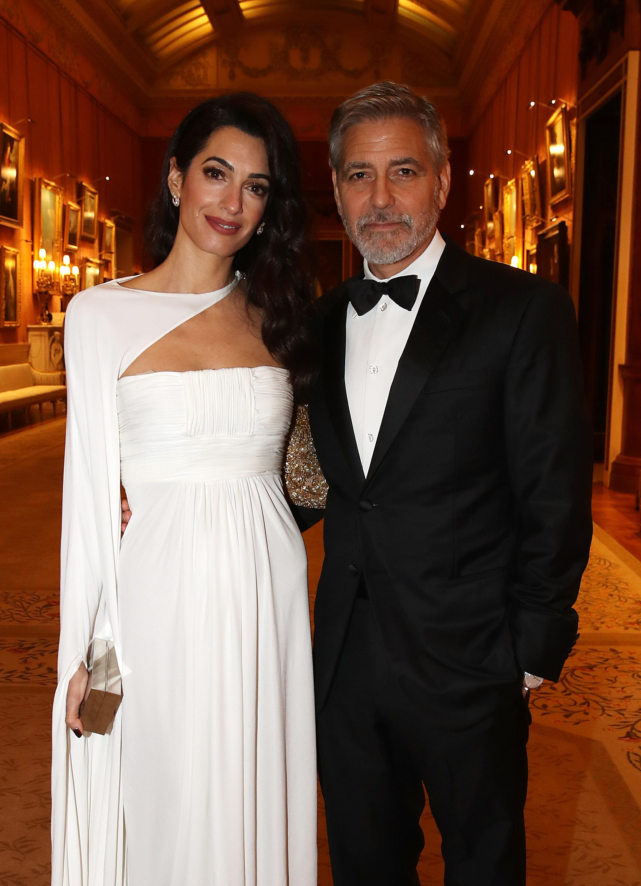 George, Amal Clooney's Marriage Not In Crisis Despite 'Love